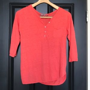 Athleta Coral Top size Small (fits like medium)
